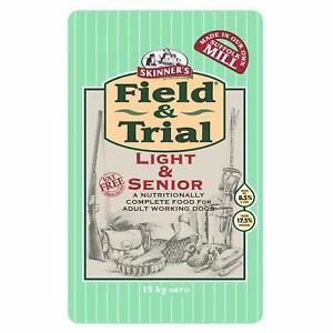 Skinner's Field & Trial Light Senior Complete Dry Dog Food Ideal for Older 15kg