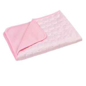1Pcs Dog Cooling Mat  Non Toxic Ice Pad Washable Summer Pets Self Cooling Mat