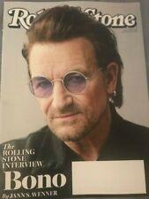 Rolling Stone Magazine- Bono Interview -January 2018