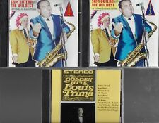 SAM BUTERA & THE WILDEST TRIBUTE TO LOUIS PRIMA 3 RARE CDS 2 AUTOGRAPHED BY SAM