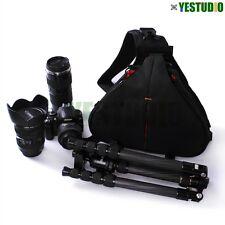Camera DSLR Sling Shoulder Travel Carry Bag Lens Case For Canon Nikon Waterproof