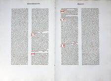 RAINERIUS DE PISIS PANTHEOLOGIA INKUNABEL DOPPELBLATT INITIALEN KOBERGER 1474