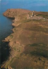 France Bretagne cape Frehel lighthouse aerial view postcard
