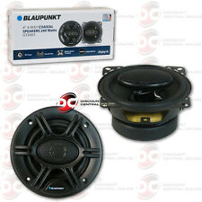 BLAUPUNKT 4 INCH  4-WAY CAR AUDIO COAXIAL SPEAKERS PAIR 480W MAX