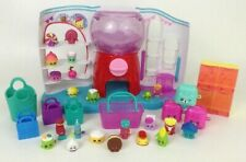 Shopkins Huge Lot Sweet Spot Store Playset with 22 Figures Bins Baskets Bags