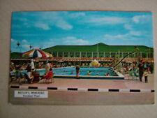 Postcard - BUTLIN'S MINEHEAD, OUTDOOR POOL. Used 1965. Standard size.
