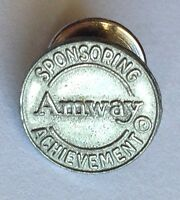 Amway Sponsoring Achievement Small Pin Badge Rare Advertising Vintage (F6)