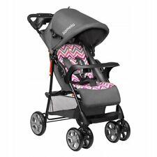Kinderwagen Buggy Lionelo Emma Pink Sportwagen Baby Spazierwagen + Umhängetasch