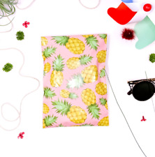 Designer Polymailers Envelopes Shipping Bags Packaging Pineapple 2 Sizes