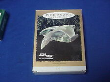 Hallmark Keepsake Ornament Star Trek Romulan Warbird 1995 NIB