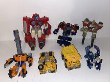 Vintage transformer action figure lot