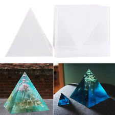 Fashion Super Pyramid Silicone Model DIY Resin Craft Jewelry Mold Plastic Pip HC