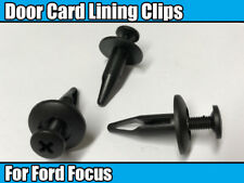 20x Door Card Panel Fascia Lining Trim Clips 6mm Retainer For Ford Focus Taurus