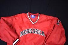 XL Vintage Nebraska Starter Pullover Festival Jacket