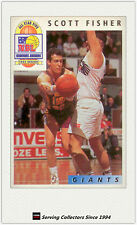 1993 Futera Australia Basketball Cards NBL Honours Award H11: Scott Fisher