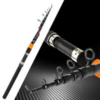 Carbon Fiber Feeder Telescopic 2 Section 120g Extra Heavy Fishing Rods Tackle