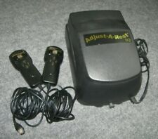 Adjust-a-Rest Dual Digital Air Chamber Pump w/ Both Remote Wired Controllers
