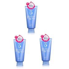 Shiseido Senka Perfect Whip cleansing Facial Foam 120g x3 pcs set with tracking