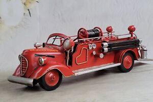 Road Signature Georgetown Fire Department 1938 Ford Fire Engine Firetruck Decor