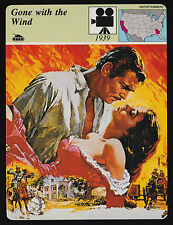 GONE WITH THE WIND Movie Clark Gable Vivian Leigh 1979 STORY OF AMERICA CARD
