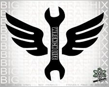 Gear Wrench Vinyl Decal Sticker Life Diesel Mechanic...
