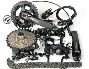 SHIMANO Deore M6000 2x10 Speed MTB Groupset M6100 Brake Set 170MM/175MM Optinal