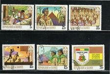 GUINEA #535-540  1969  BOY SCOUTS     MINT  VF LH  O.G  CTO