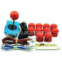 Arcade DIY Kits Parts USB Encoder To PC China Sanwa Joystick + Push Buttons