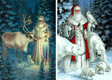 (10) 'Santa & Friends' Christmas Cards Leanin Tree #90279 - 10 Different Usa