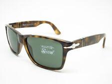 Persol PO 3195S 1054/31 Dark Havana w/Green 3195 Sunglasses 58mm