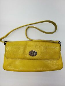 kate spade new york Yellow leather Purse Shoulder Bag