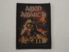 AMON AMARTH SURTUR RISING WOVEN PATCH