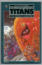 The New Teen Titans, The Judas Contract (1988 DC) TPB 1st Edition - 1st Printing