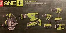 RYOBI P1819 18-Volt ONE+ Lithium-Ion Cordless 6-Tool Combo Kit *NEW*