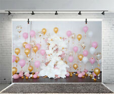7x5' Balloons Baby Shower Birthday Party Backgrounds Photography Props Backdrops