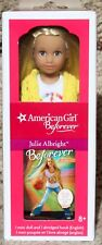 "AMERICAN GIRL JULIE BEFOREVER MINI 6.5"" DOLL w/BOOK NEW in SEALED BOX"