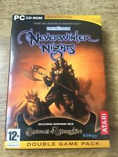 Neverwinter Nights Gold Edition Double Game Pack Expansion Shadows of Undrentide