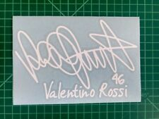valentino Rossi 46 Signature Stickers Motorcycle Decals Stickers Vinyl Bike