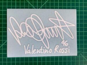 valentino Rossi 46 Signature Stickers Motorcycle Decals Stickers Vinyl Bike