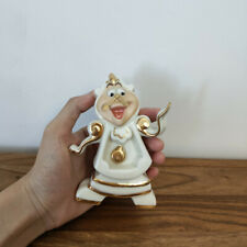 Limited Edition Beauty And The Beast Mrs Potts Chip Cogsworth Clock Ceramic Gift