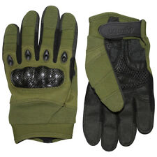 VIPER ELITE GLOVES TACTICAL MENS BIKER MOTORBIKE HUNTING KNUCKLE GLOVE GREEN