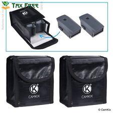 2 Pack DJI Mavic Pro Explosion Proof LiPo Battery Bag Case Safety Storage Pouch