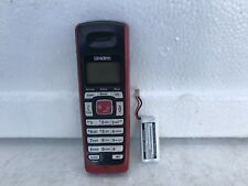 UNIDEN CORDLESS PHONE HANDSETS # DECT2080-5        RED