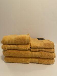 Ralph Lauren Greenwich Towels~Marigold 6 Pc Set~2 of ea. Bath/Hand/Face Cloth