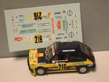 DECAL CALCA 1/43 SEAT 127 J. MORA RALLY MONTE CARLO 1978