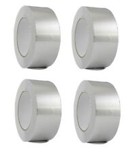 """4 Rolls Aluminum Foil Tape 2"""" x 150' With Liner - Malleable Foil - Free Shipping"""