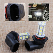 2x H10 5050K LED White Bulbs 18SMD Fog Light Lamp Fit For  Ford F-150 2002-2010