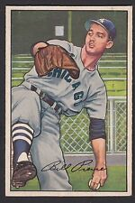1952 Bowman #54 Walter William Billy Pierce Chicago White Sox baseball card
