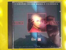 MOZART W. A. - I GRANDI DELLA MUSICA CLASSICA. VOL. 3. CD.