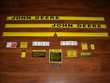 To fit John Deere 1130 tractor decal set with caution set